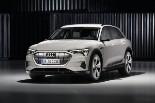Audi e-tron electric crossover debuts to battle Tesla