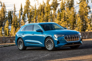 2019 Audi E-Tron crashes well, scores five stars from the NHTSA
