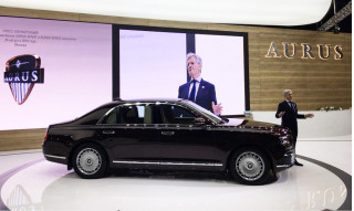 Aurus Senat: Civilian version of Putin's limo makes 2018 Moscow auto show debut