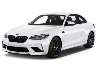 2019 BMW M2 Competition Coupe Angular Front Exterior View