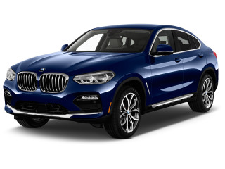 2019 BMW X4 xDrive30i Sports Activity Coupe Angular Front Exterior View