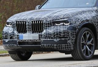 2019 BMW X5 spy shots - Image via S. Baldauf/SB-Medien