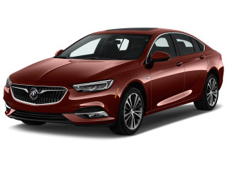 2019 Buick Regal Sportback 4-door Sedan Essence FWD Angular Front Exterior View