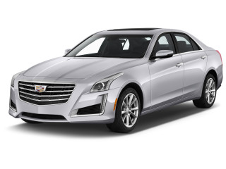 2019 Cadillac CTS 4-door Sedan 3.6L Luxury RWD Angular Front Exterior View