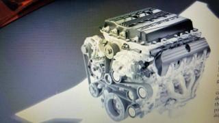 2019 Chevrolet Corvette ZR1's LT5 V-8 engine leaked
