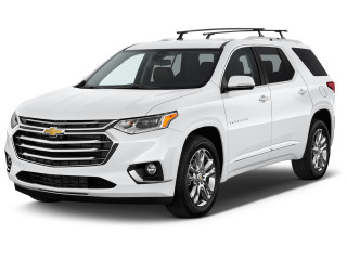 2019 Chevrolet Traverse AWD 4-door High Country w/2LZ Angular Front Exterior View