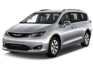 2019 Chrysler Pacifica Hybrid Limited FWD Angular Front Exterior View