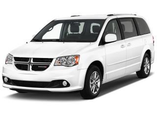 2019 Dodge Grand Caravan Sxt Wagon Angular Front Exterior View