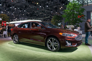 2019 Ford Fusion, 2018 New York auto show