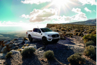2019 Ford Ranger Black Appearance Package turns lights out on mid-size pickup truck
