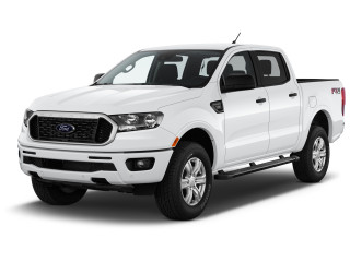 2019 Ford Ranger XLT 4WD SuperCrew 5' Box Angular Front Exterior View