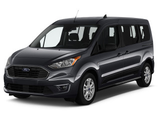 2019 Ford Transit Connect Wagon XLT LWB w/Rear Symmetrical Doors Angular Front Exterior View