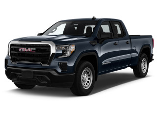 """2019 GMC Sierra 1500 2WD Double Cab 147"""" Angular Front Exterior View"""
