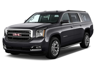 2019 GMC Yukon XL 2WD 4-door SLT Angular Front Exterior View