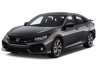 2019 Honda Civic Si Sedan Manual Angular Front Exterior View