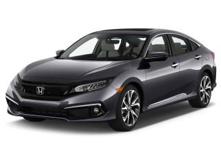 2019 Honda Civic Touring CVT Angular Front Exterior View