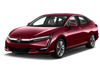 2019 Honda Clarity Plug-In Hybrid Sedan Angular Front Exterior View
