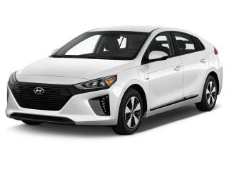 2019 Hyundai Ioniq Plug-In Hybrid Hatchback Angular Front Exterior View