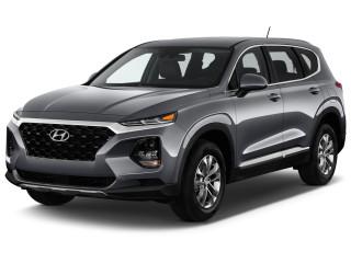 2019 Hyundai Santa Fe SE 2.4L Auto FWD Angular Front Exterior View