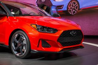 2019 Hyundai Veloster, 2018 Detroit auto show