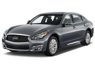 2019 INFINITI Q70L 3.7 LUXE RWD Angular Front Exterior View