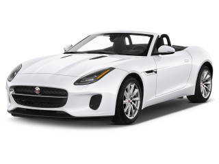 2019 Jaguar F-Type Convertible Auto P300 Angular Front Exterior View