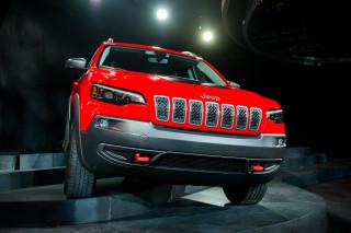 2019 Jeep Cherokee, 2018 Detroit auto show