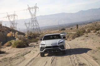 2019 Lamborghini Urus, Palm Springs media drive, December, 2018