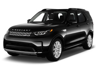 2019 Land Rover Discovery HSE Td6 Diesel Angular Front Exterior View