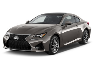 2019 Lexus RC F RWD Angular Front Exterior View