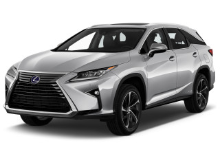 2019 Lexus RX RX 450hL Luxury AWD Angular Front Exterior View