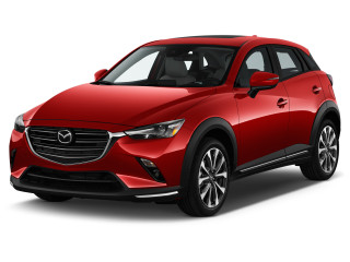 2019 Mazda CX-3 Grand Touring FWD Angular Front Exterior View