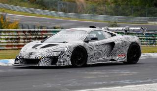 2019 McLaren P15 spy shots