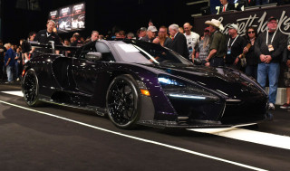 2019 McLaren Senna VIN 005 sells for almost $1.5M