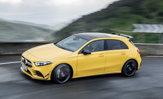 2019 Mercedes-AMG A35 hot hatch revealed with 302 horsepower