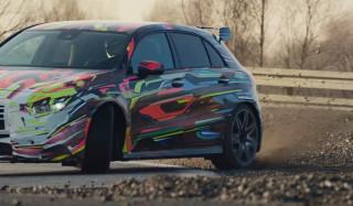 2019 Mercedes-AMG A45 hatchback teaser