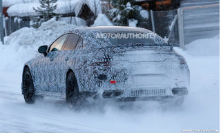 2019 Mercedes-AMG GT sedan spy shots - Image via S. Baldauf/SB-Medien