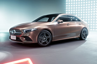 First-ever Mercedes-Benz A-Class sedan debuts in Beijing