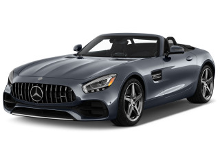 2019 Mercedes-Benz AMG GT AMG GT Roadster Angular Front Exterior View