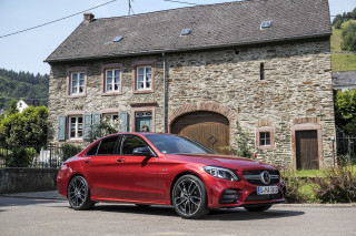 2019 Mercedes-Benz C-Class (C43 sedan)