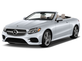 2019 Mercedes-Benz E Class E 450 4MATIC Cabriolet Angular Front Exterior View