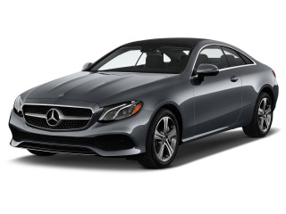 2019 Mercedes-Benz E Class E 450 RWD Coupe Angular Front Exterior View