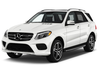 2019 Mercedes-Benz GLE Class AMG GLE 43 4MATIC SUV Angular Front Exterior View