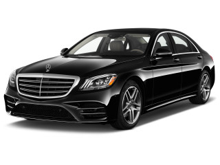 2019 Mercedes-Benz S Class S 450 Sedan Angular Front Exterior View