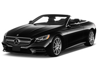 2019 Mercedes-Benz S Class S 560 Cabriolet Angular Front Exterior View