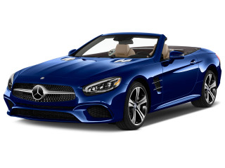 2019 Mercedes-Benz SL Class SL 450 Roadster Angular Front Exterior View