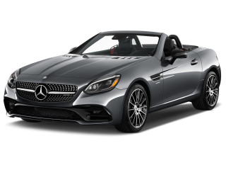 2019 Mercedes-Benz SLC Class AMG SLC 43 Roadster Angular Front Exterior View