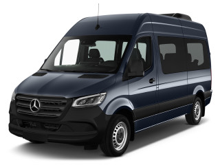 2019 Mercedes-Benz Sprinter Angular Front Exterior View