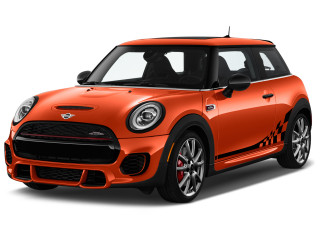 2019 MINI Hardtop 2 Door John Cooper Works FWD Angular Front Exterior View