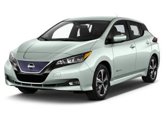 2019 Nissan Leaf SV Hatchback Angular Front Exterior View